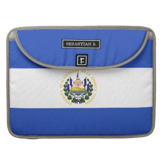 The flag of El Salvador Sleeve For MacBook Pro
