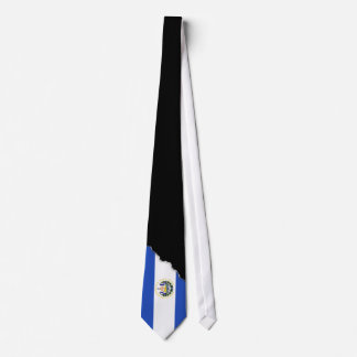 The flag of El Salvador Tie