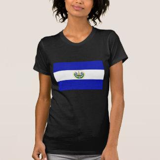The Flag of El Salvador. Tee Shirts