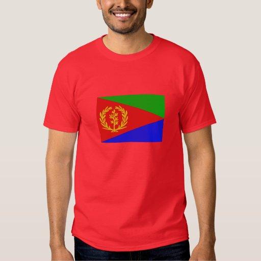 The Flag of Eritrea Mens T Shirt