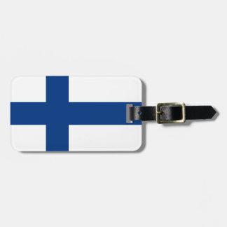 The Flag of Finland - Siniristilippu Bag Tag