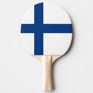 The Flag of Finland - Siniristilippu Ping-Pong Paddle