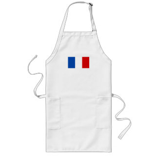 The Flag of France Long Apron