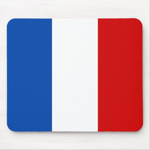 The Flag of France Mouse Pad