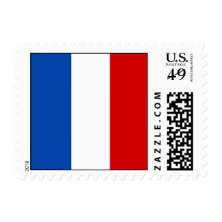 The Flag of France Postage Stamps