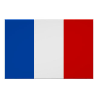 The Flag of France Poster