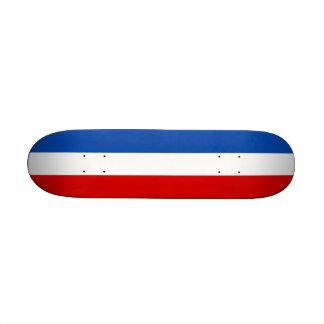The Flag of France Custom Skate Board