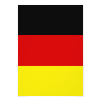 The Flag of Germany 5x7 Paper Invitation Card