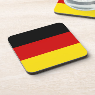 The Flag of Germany Beverage Coaster