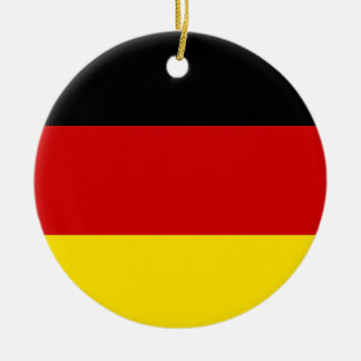 The Flag of Germany Ceramic Ornament