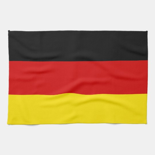 The Flag of Germany Kitchen Towel