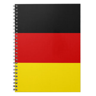 The Flag of Germany Note Books