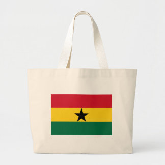 The Flag of Ghana Products Large Tote Bag