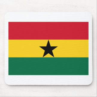 The Flag of Ghana Products Mouse Pad