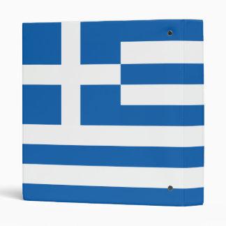 The Flag of Greece Binder