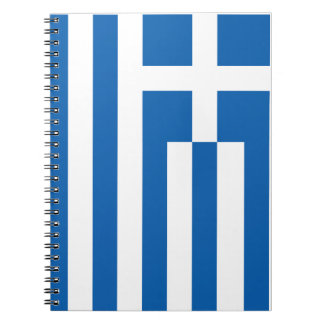 The Flag of Greece Notebook