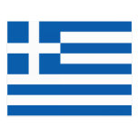 The Flag of Greece Postcard
