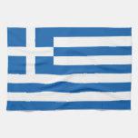 The Flag of Greece Towel