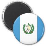 The Flag of Guatemala Fridge Magnet