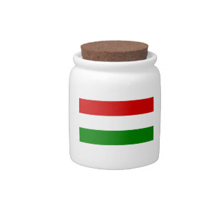 The Flag of Hungary Candy Dishes