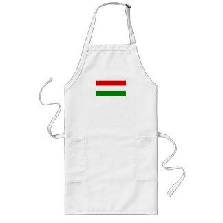 The Flag of Hungary Long Apron
