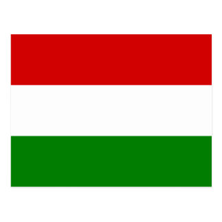 The Flag of Hungary Postcard