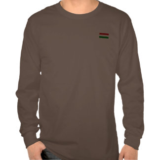 The Flag of Hungary Tee Shirt