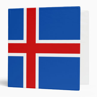 The Flag of Iceland Binders