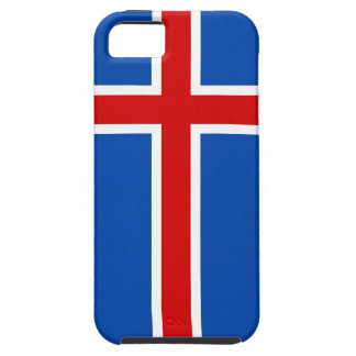 The Flag of Iceland iPhone 5 Covers