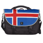 The Flag of Iceland Commuter Bags