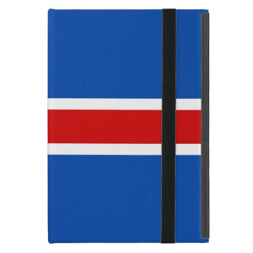 The Flag of Iceland Covers For iPad Mini