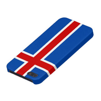 The Flag of Iceland Covers For iPhone 5