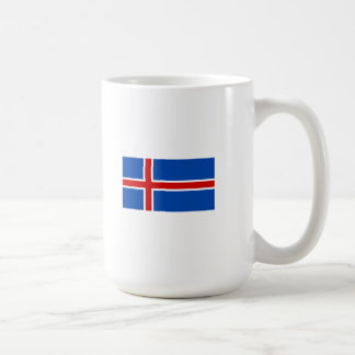 The Flag of Iceland Classic White Coffee Mug