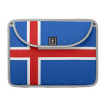The Flag of Iceland Sleeves For MacBooks