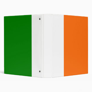 The Flag of Ireland 3 Ring Binder
