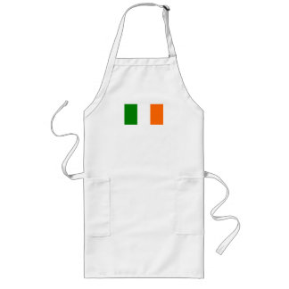 The Flag of Ireland Long Apron