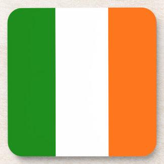 The Flag of Ireland Beverage Coasters