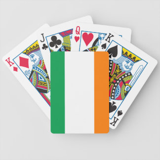 The Flag of Ireland, Irish Tricolour Bicycle Playing Cards