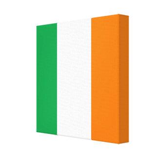 The Flag of Ireland, Irish Tricolour Canvas Print