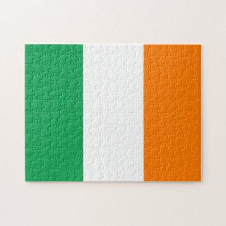 The Flag of Ireland, Irish Tricolour Jigsaw Puzzle