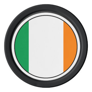 The Flag of Ireland, Irish Tricolour Poker Chip Set