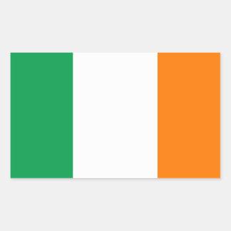 The Flag of Ireland, Irish Tricolour Rectangular Sticker
