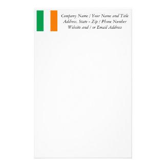 The Flag of Ireland, Irish Tricolour Stationery