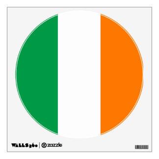 The Flag of Ireland, Irish Tricolour Wall Decal