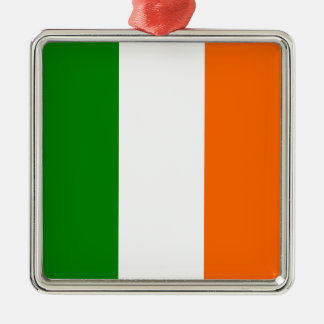 The Flag of Ireland Metal Ornament