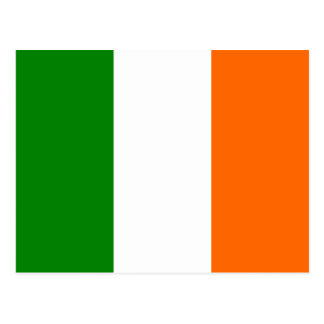The Flag of Ireland Postcard