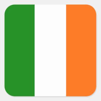 The Flag of Ireland Square Sticker