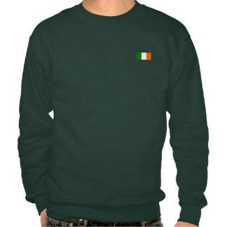 The Flag of Ireland Pullover Sweatshirts