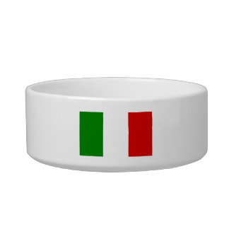 The Flag of Italy Bowl