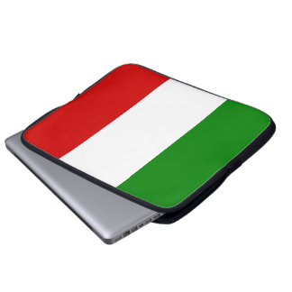 The Flag of Italy Laptop Sleeve
